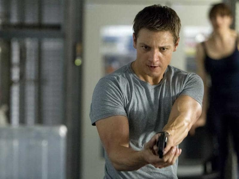 This film is very loosely based on The Bourne Legacy, a later Bourne novel written by Eric Van Lustbader. But like the previous three films in the Bourne franchise, it has a completely distinct plot from the book.