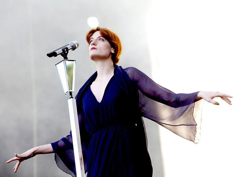 Florence Welch of the band Florence and the Machine performs at the Oya music festival in Oslo. Reuters Photo