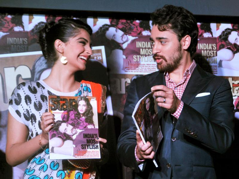 Sonam Kapoor and Imran Khan have graced the cover of Starweek magazine. (Photo: AFP)