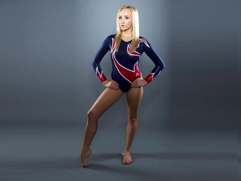 Gymnast Nastia Liukin poses for a portrait during the 2012 US Olympic team media summit in Dallas. The 22-year-old amazes all with her flexible physique and her bevy of gold medals! Reuters/Lucas Jackson
