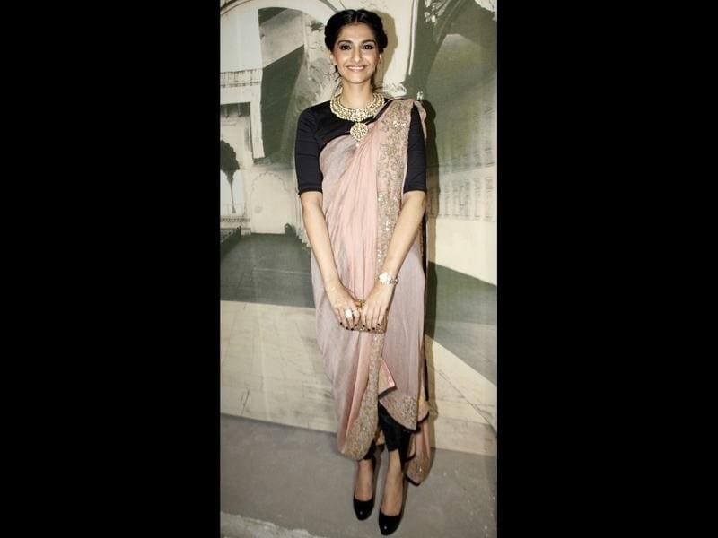 Sonam Kapoor was spotted on Day Two of the DCW.