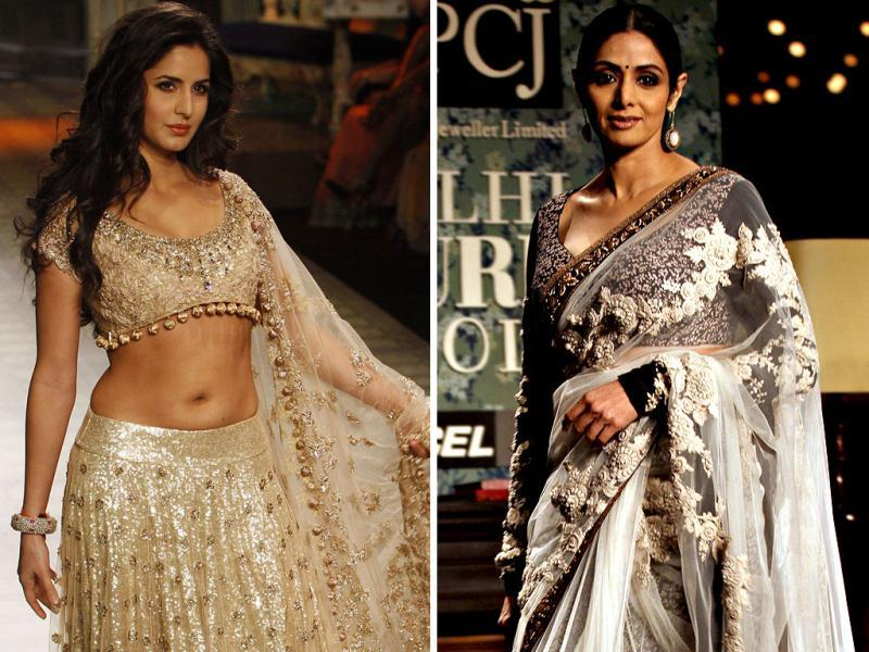 Many Bollywood celebrities graced the Delhi Couture Week which was held from August 8-12. Have a look.
