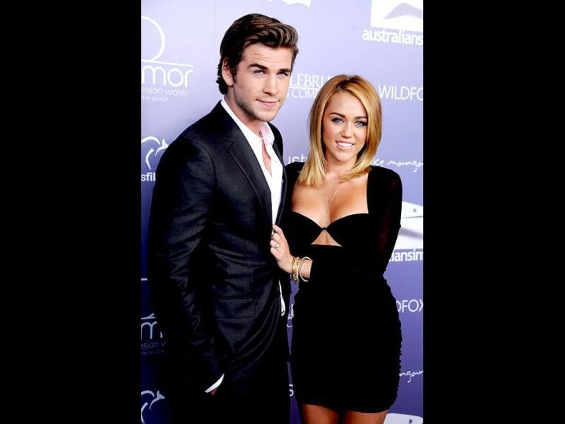 On June 6, 2012, Miley Cyrus announced that she and Liam Hemsworth were engaged. He proposed on May 31 with a 3.5-carat diamond ring. (Photo: Getty Images)