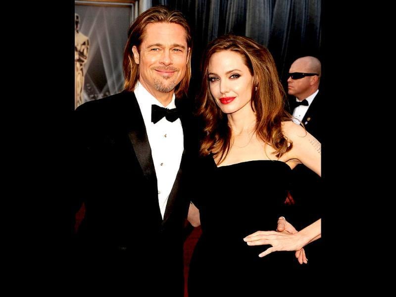 Brad Pitt and Angelina Jolie announced their engagement in April 2012 after seven years together. (Photo: Getty Images)