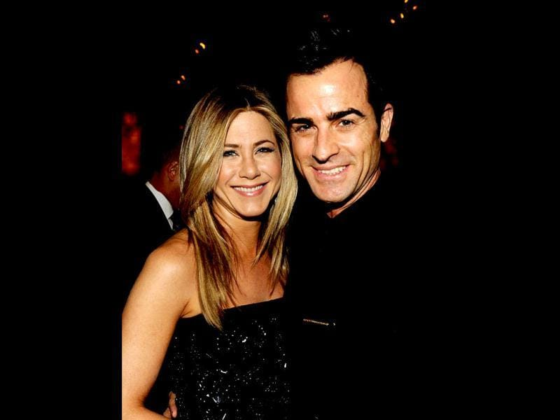 In May 2011, Jennifer Aniston began a relationship with Justin Theroux. In January 2012, Aniston and Theroux purchased a home in Los Angeles's Bel-Air neighborhood for roughly $22 million. On August 12, 2012, it was announced Aniston and Theroux were engaged. (Photo: Getty Images)