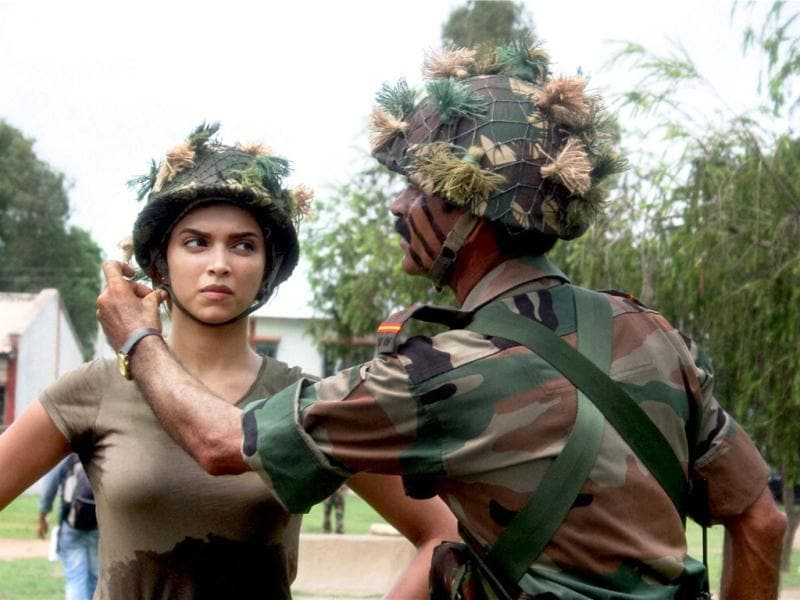 Deepika was seen eating, dancing, training and even playing basketball with the soldiers of the Indian army on the show. She sure means business!