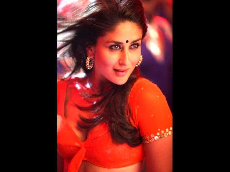 'Heroine' Kareena Kapoor looks hot in a still from the film.