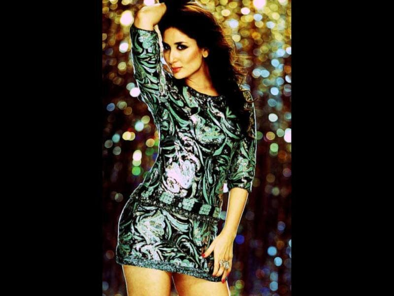 Kareena Kapoor totally pulls off her glamourous character in the film.