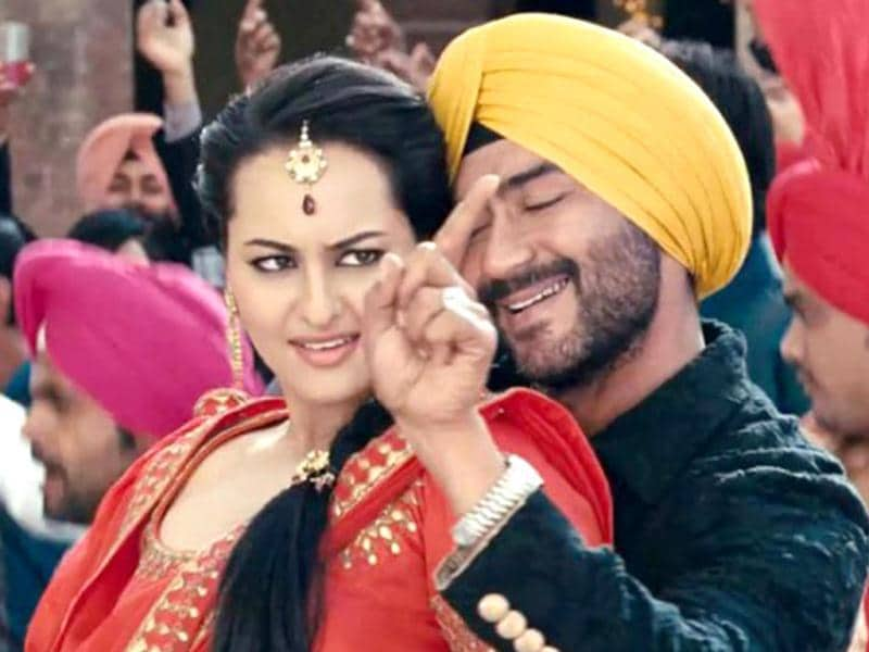 Sonakshi Sinha and Ajay Devgn will be seen romancing each other for the first time.