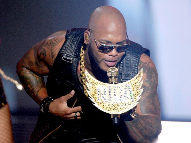 Flo Rida performs onstage during the 2012 Do Something Awards at Barker Hangar in Santa Monica, California. Kevin Winter/Getty Images for VH1/AFP