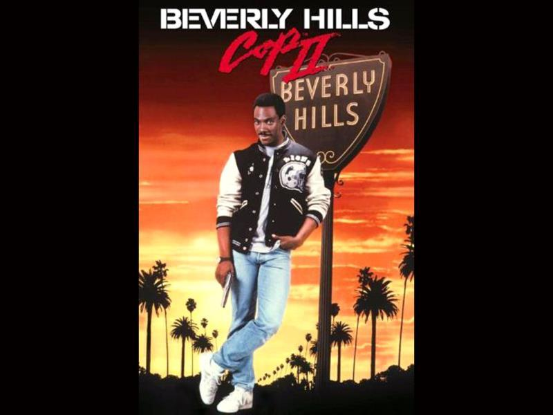 Beverly Hills Cop II is a 1987 action-comedy film starring Eddie Murphy. Aside from box office success, the film was nominated for an Oscar and for a Golden Globe for Best Original Song, for the song Shakedown.
