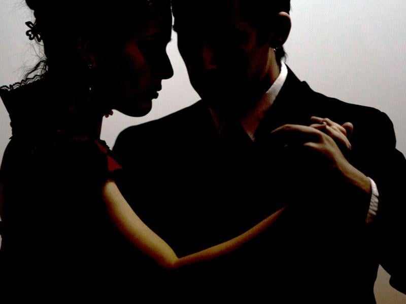 A couple rehearses before competing at the Tango Dance World Cup 2012, salon category, in Buenos Aires. AP/Natacha Pisarenko
