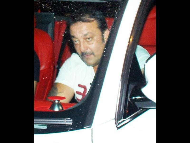 Sporting fresh locks? Sanjay Dutt
