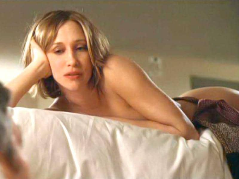 Vera Farmiga opted for a double when she played George Clooney's lover in Up In The Air as she had recently given birth.