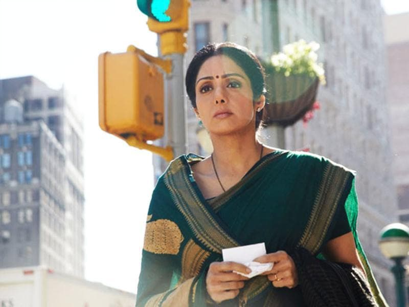Sridevi excels in making laddoos in English Vinglish.