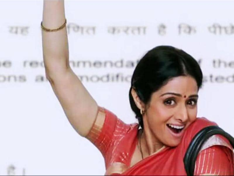 Sridevi in a still from English Vinglish.