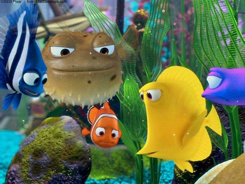 One of the first of its kind, Finding Nemo set a benchmark for animated films and also made Pixar animation very popular.