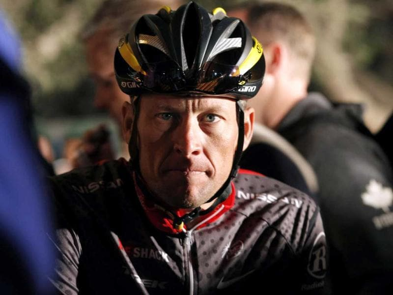Seven-time Tour de France winner Lance Armstrong awaits the start of the 2010 Cape Argus Cycle Tour in Cape Town in this 2010 file photo. Reuters photo
