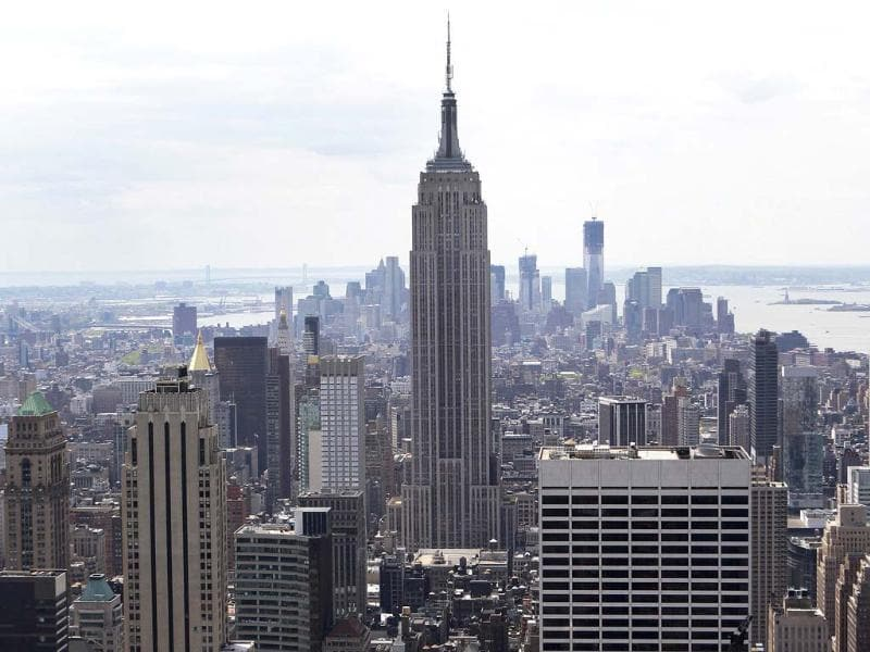 The Empire State Building is seen in New York in this file photo. Reuters/Shannon Stapleton