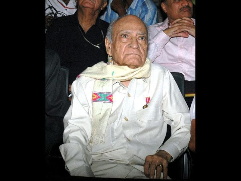 The 98-year-old actor recently made an appearance in television show Madhubala.