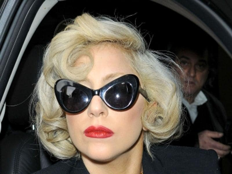 Known for her niche style, Lady Gaga was also spotted in the past in these frames.