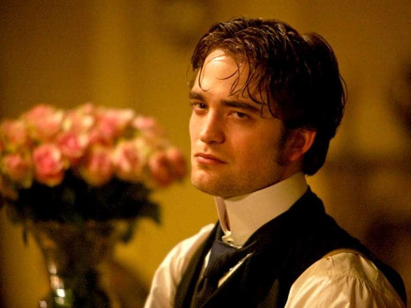 In the film, Pattinson plays Georges Duroy, a young social climber based on the character from Guy de Maupassant's novel Bel Ami.