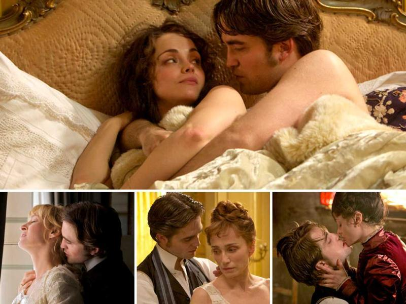 Bel Ami is the chronicle of a young man's rise to power in Paris via his manipulation of the city's most influential and wealthy women. Here's a look at Robert Pattinson at his charming and passionate best.