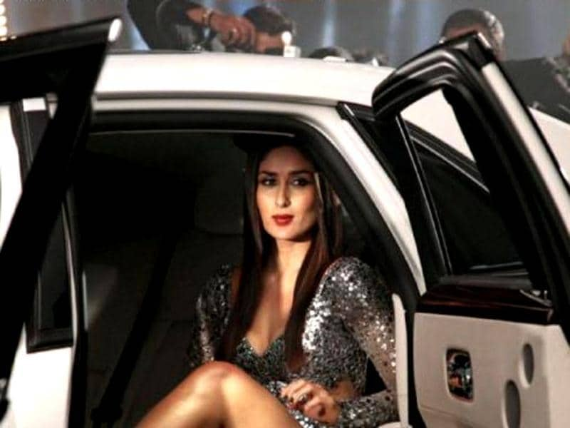 Kareena Kapoor plays her role in Heroine with aplomb.