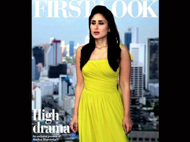 Kareena Kapoor says her latest project Heroine is eighty per cent based on real life.