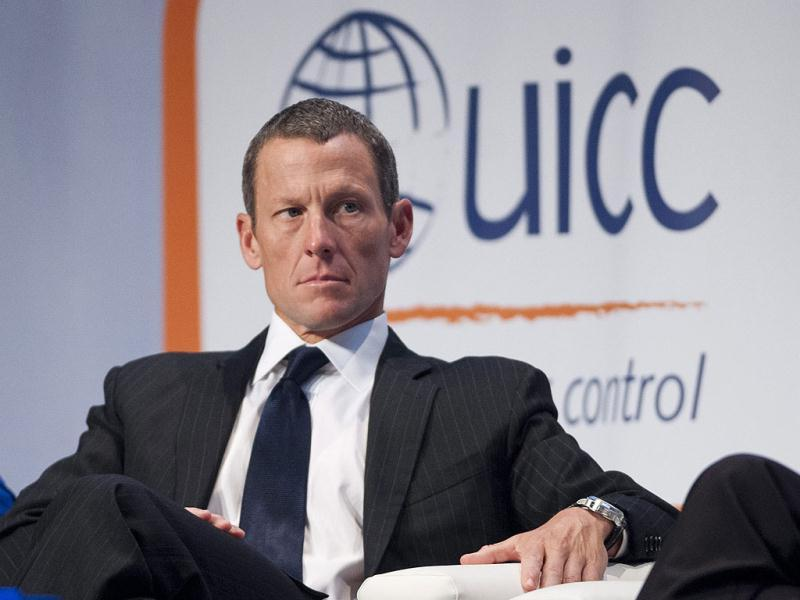 Lance Armstrong listens at the World Cancer Congress in Montreal Wednesday, Aug. 29, 2012. AP Photo/The Canadian Press, Graham Hughes