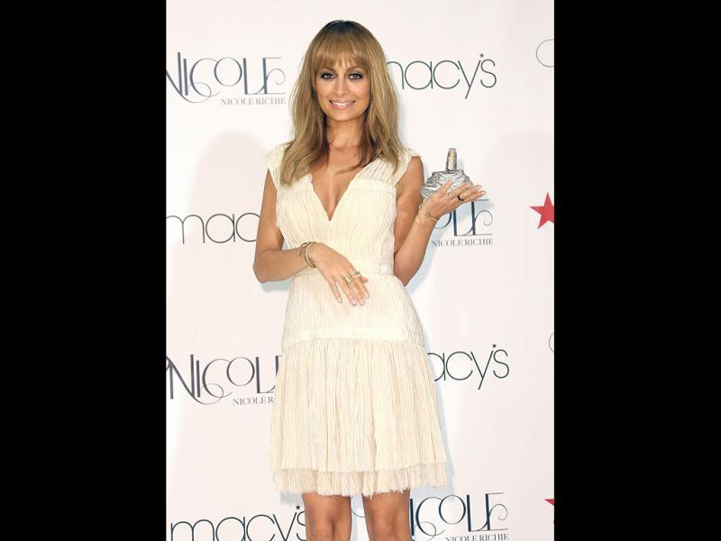 Nicole Richie attends the launch of her perfume Nicole at Macy's Glendale Galleria in Glendale, California. Photo by Todd Williamson/Invision/AP