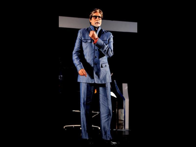 """As per our tagline of this season, Gyaan Hee Aapko Aapka Haq Dilata Hai, those who come to the hot seat will have to be knowledgeable,"" Bachchan said. (AFP Photo)"