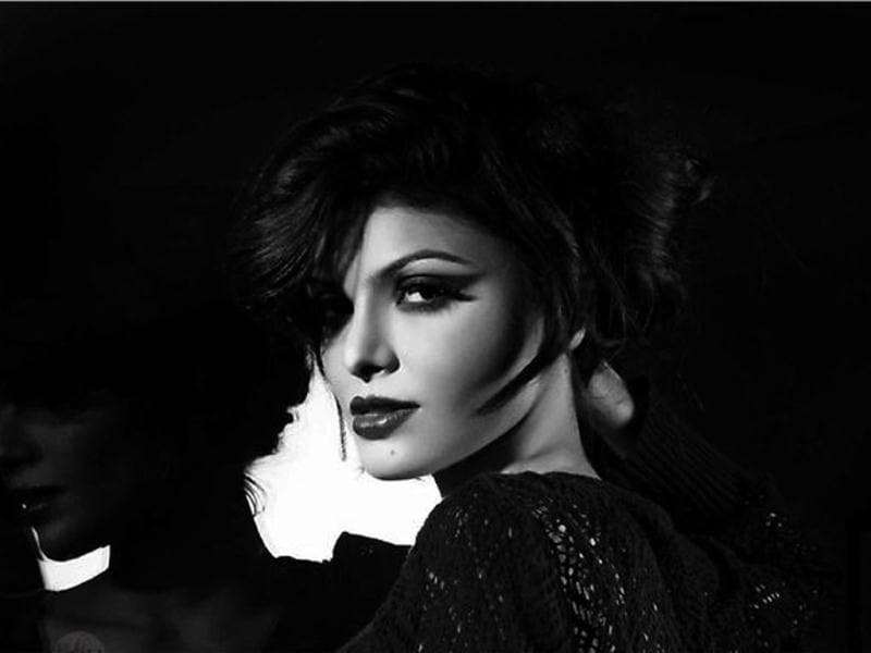 Sherlyn dazzles in monochrome (Photo Credit: SherlynChopra/Twitter)