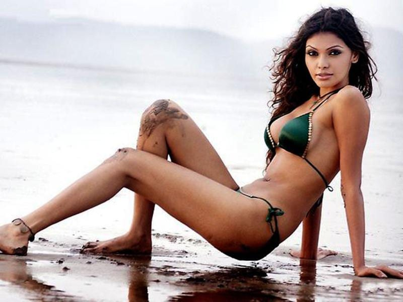 Sherlyn, the bikini babe (Photo Credit: SherlynChopra/Twitter)