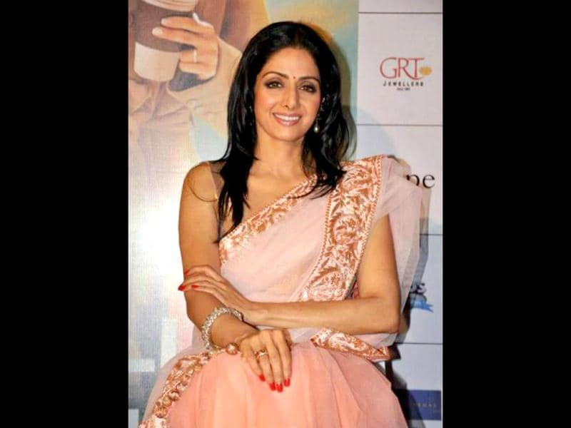 Sridevi is all set for her Bollywood comeback with English Vinglish.