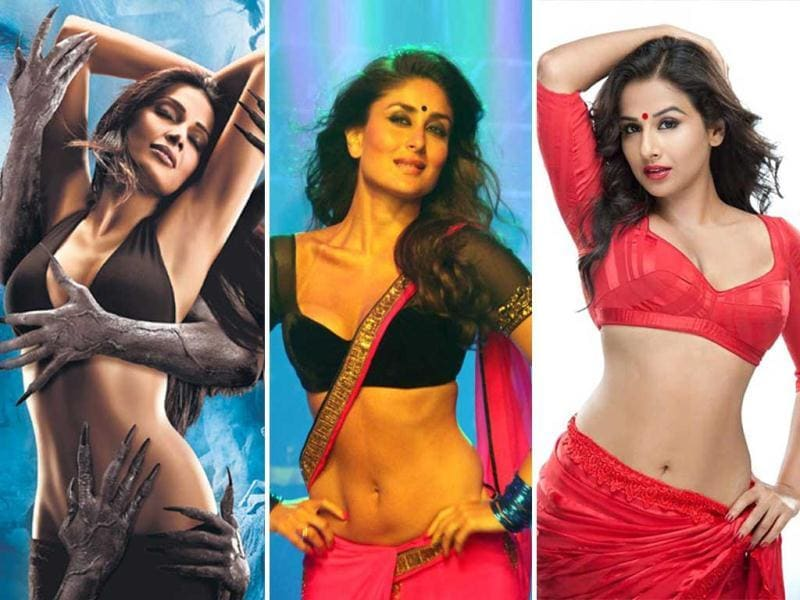 While Bebo will be seen as a bold Heroine in Madhur Bhandarkar's next, bongshell Bipasha displays the evil side of Bollywood in Raaz 3. Take a look at actresses who played heroines on screen.
