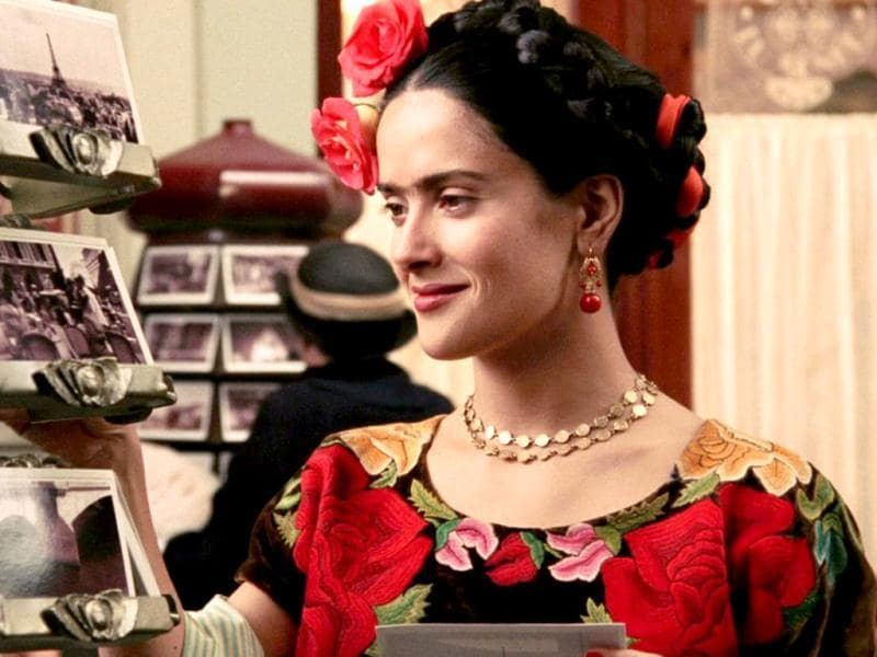 In the 2002 film Frida, Salma convincingly played the legendary Mexican painter and even won several awards and nominations for her performance.