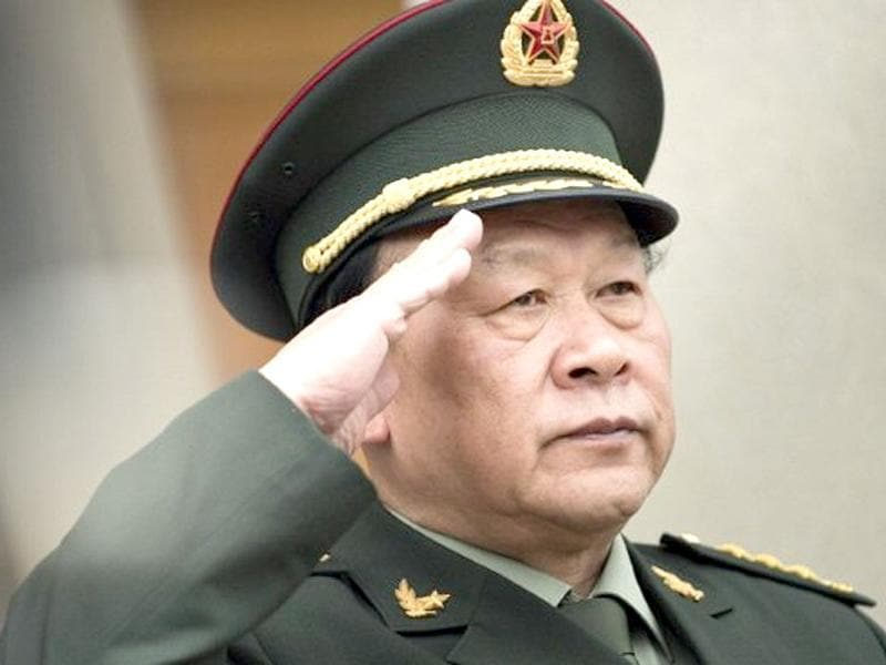 File photo of Chinese defence minister Gen Liang Guanglie at the Pentagon in Washington. AFP/Brendan Smialowski