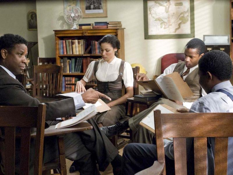 Denzel Washington directed and starred in The Great Debaters (2007), a story of professor Melvin Tolson of Wiley College in Texas. Set in the 1930s, the film focuses on how he formed the school's first debate team and managed to challenge prejudices to get his team to face off with Ivy League.