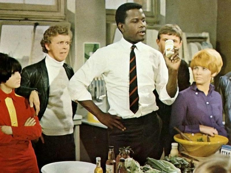 In To Sir, with Love (1967), Sidney Poitier is the quintessential inspirational teacher. He plays an idealistic engineer-turned-teacher who ends up in an East End London school where the staff has given up on the rowdy, incorrigible students. Things start rough but once he throws out the textbooks and decides to teach the kids about life.