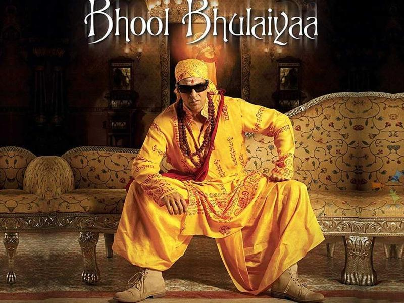 Bhool Bhulaiyaa (2007): Akshay Kumar plays a psychiatrist called Dr Aditya Shrivastav in this Vidya Balan starrer.