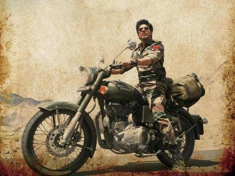Shah Rukh Khan is looking his best in the romantic-drama flick.