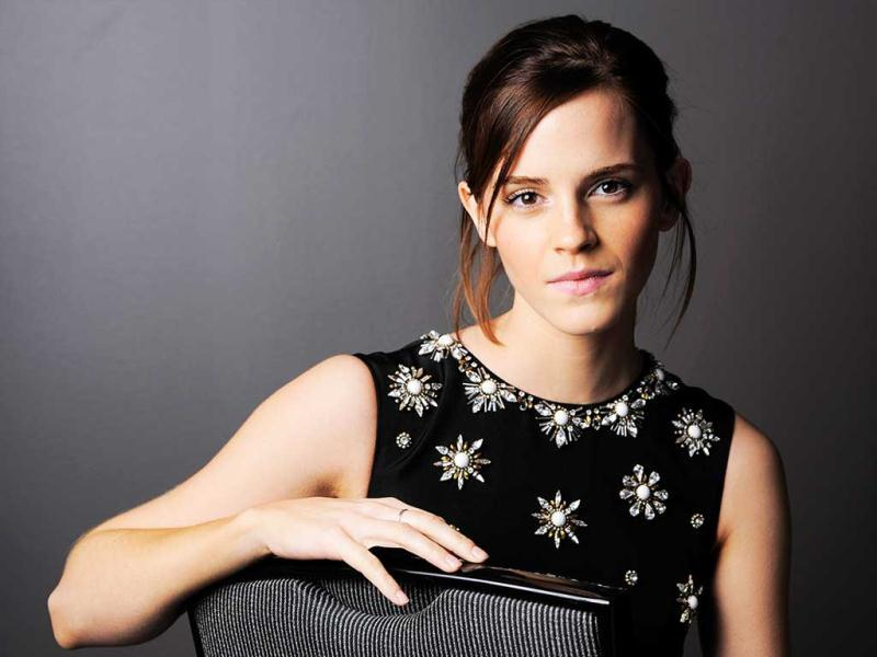 Emma Watson poses for a portrait at the 2012 Toronto Film Festival.