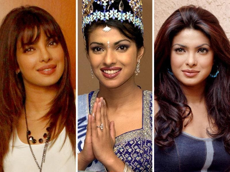From Miss World to a struggling actor who cut through to make it to the top, let's trace Priyanka Chopra's fashion sense over the years.