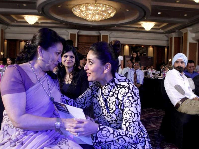 Aww moment! Sharmila Tagore bonding bigtime with daughter-in-law-to-be Kareena Kapoor.