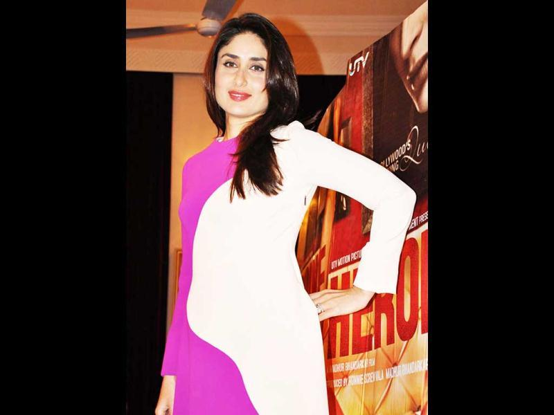 Kareena Kapoor is leaving no stone unturned in promoting her upcomimg film Heroine. Here's a look at the diva on a promotional spree.