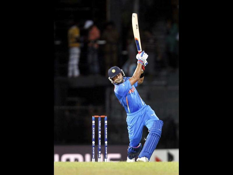 Virat Kohli bats during the ICC T20 World Cup cricket match between India and Afghanistan at R Premadasa Stadium in Colombo, Sri Lanka. HT/Ajay Aggarwal