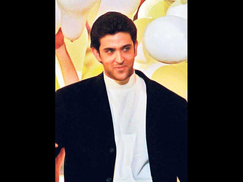 2000 - The star: He was all of 25 and already had the face of a man, body of a Greek God and the appeal of the biggest heartthrob the country was to witness with his debut film, Kaho Naa...Pyaar Hai. He shot above the horizon and became an overnight star.