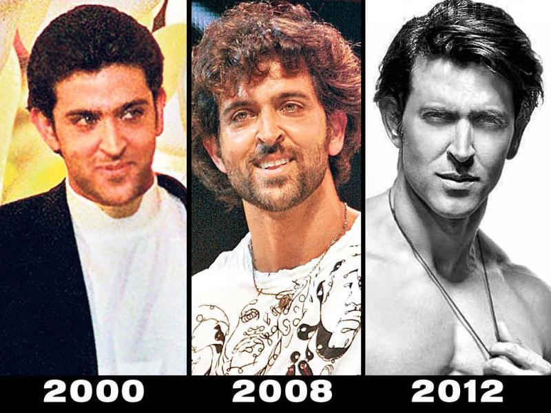 From an author-backed debut in his father Rakesh Roshan's film, Kaho Naa... Pyaar Hai in 2000 to pat-worthy performances in Mission Kashmir, Koi... Mil Gaya, Lakshya, Jodhaa Akbar, Guzaarish, and recently Agneepath — irrespective of their fates at the box office — actor Hrithik Roshan has stopped at nothing to escalate in terms of popularity and fame. Photos: Getty Images, Fotocorp and Men's Health