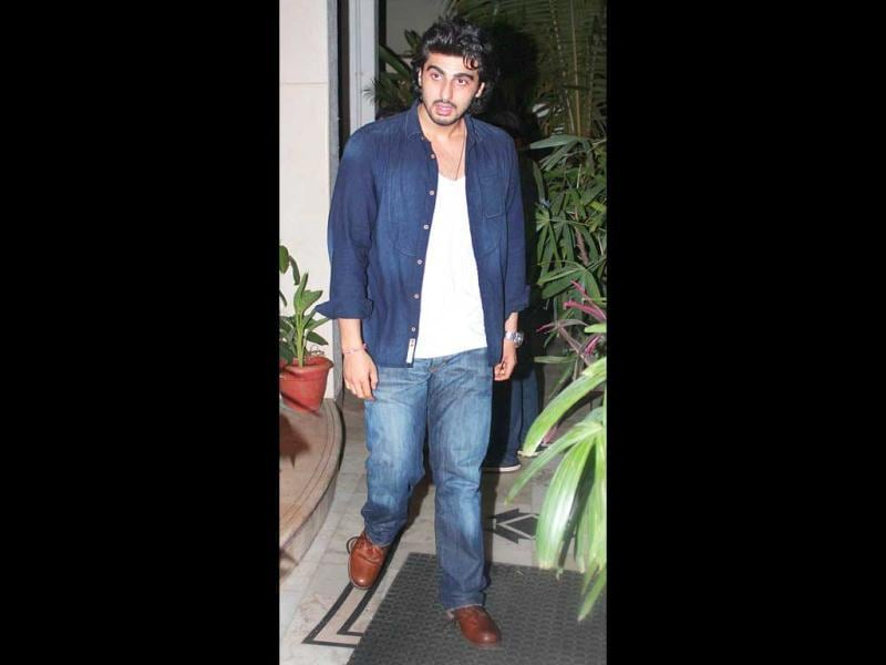 Arjun Kapoor poses for the camera.